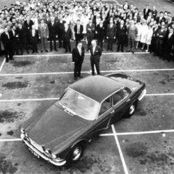 Jaguar XJ6 and the team of creators