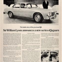 Jaguar XJ6 announce - Magazine article