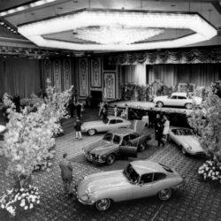 Jaguar XJ6 announce - New York, Hilton Hotel, 1968