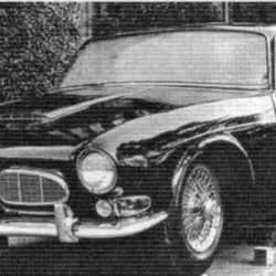 Jaguar XJ6 early prototype