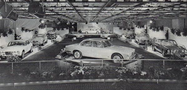 Jaguar XJ6 in Royal Lancaster Hotel - London, 26 September 1968