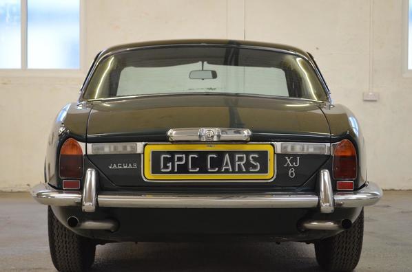 Jaguar XJ6 Series 2 backlights
