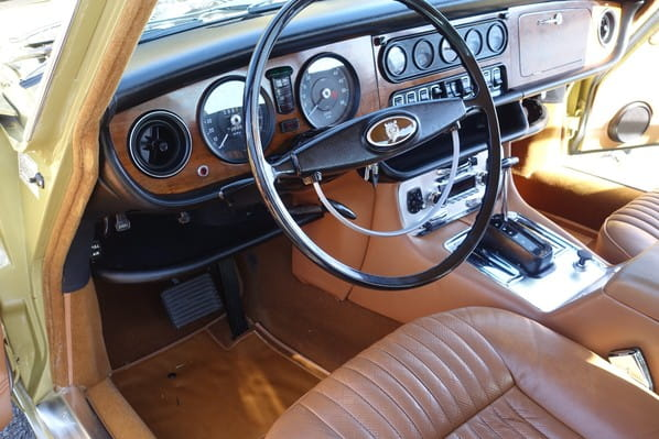 Jaguar XJ6 steering