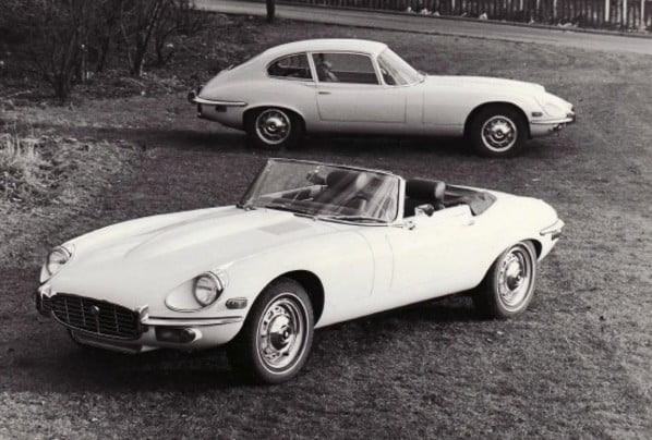 Jaguar XK-E Series 3 Roadster and Family Coupe