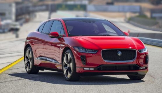 Электромобиль Jaguar-I-PACE