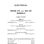 Jaguar Mark VII and XK120 Electrical guide