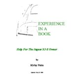 Jaguar XJ-S Experience in a book by Kirby Palm