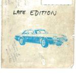 XJ-S Parts Catalogue 1979