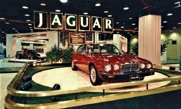 Jaguar XJ Vanden Plas - Chicago Motor Show 1986