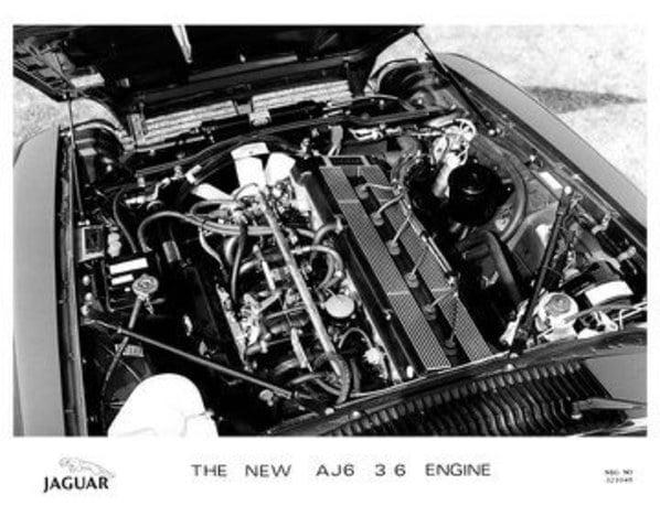 Jaguar AJ6 3.6 litre engine