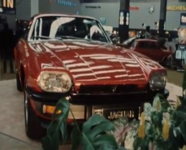 Jaguar XJ-S on Frankfurt Motor Show 1975