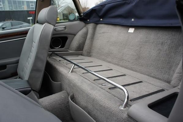 Jaguar XJ-SC Cabriolet seats