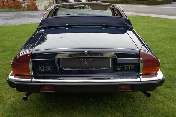 Jaguar XJ-SC Cabriolet Targa