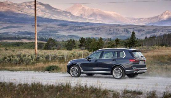Кроссовер BMW X7 профиль