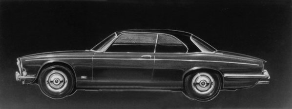 Jaguar XJ33/XJ34 early XJC sketch