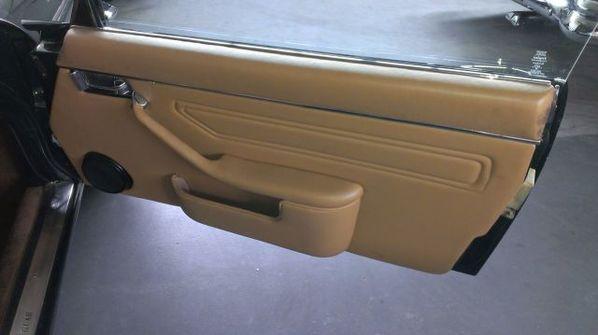 Jaguar XJC door