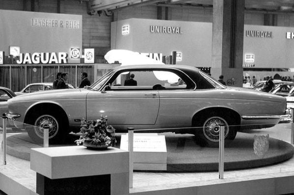 Jaguar XJC on Frankfurt Motor Show 1973