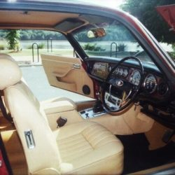 Jaguar XJC Series 1 interior