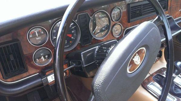 Jaguar XJC steering