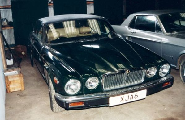 Masked Jaguar XJC Series 1