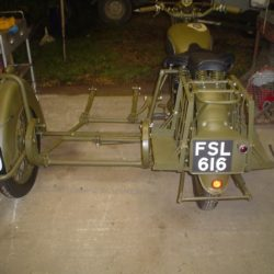 Norton World War II sidecar chassis
