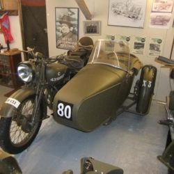 Swallow Sidecar model 8 after reconstruction