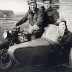 Swallow Sidecar model 8 and RAF