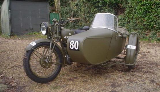 Swallow Sidecar model 8 (World War II model)