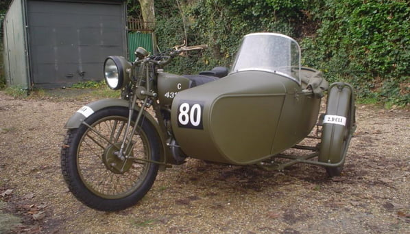 Swallow Sidecar model 8 (World War II model)
