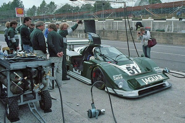 Jaguar XJR-6 on Brands Hatch 1985