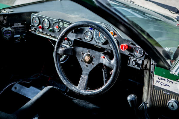 Jaguar XJR-6 steering