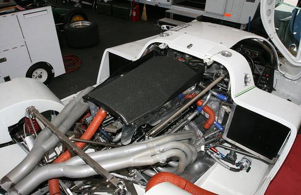 Jaguar XJR-7 engine