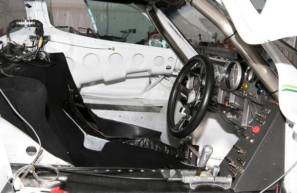 Jaguar XJR-7 interior