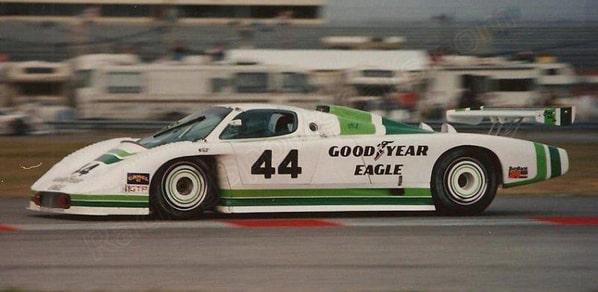 Jaguar XJR-7 on Daytona 24 Hours 31 january 1988