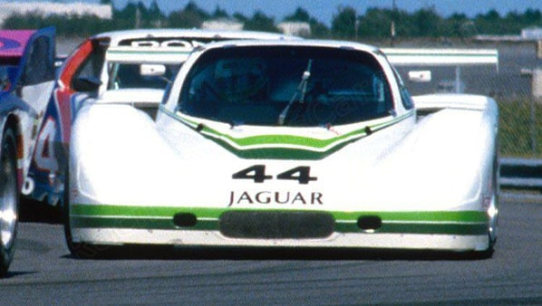 Jaguar XJR-7 on Eastern 3 Hours Daytona 26 october 1986