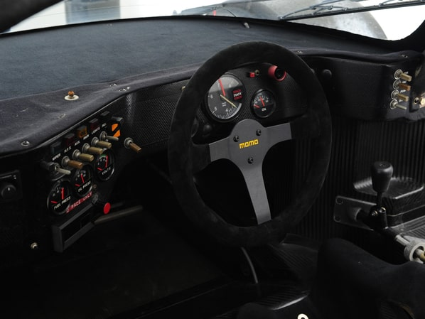 Jaguar XJR-8 steering