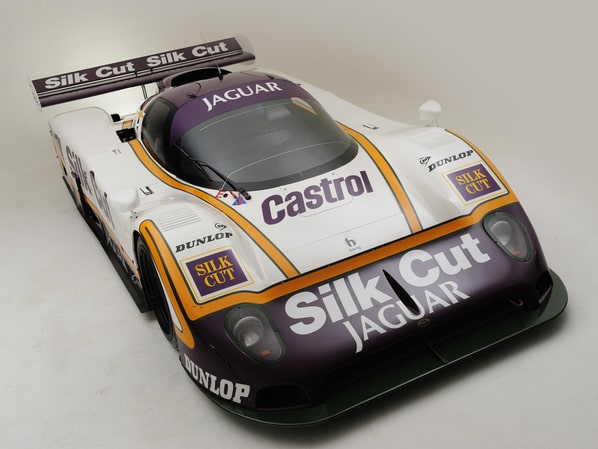 Jaguar XJR-8 TWR racing car