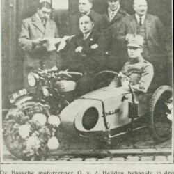 Den Bosch and Swallow Sidecar model 6 Competition