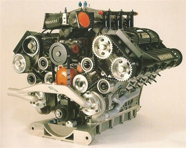 Jaguar JRV-6 V6 engine