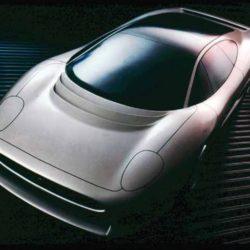 Jaguar XJ220 Concept 1:4 clay model
