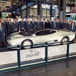 Jaguar XJ220 Concept and Jaguar Team