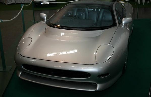 Jaguar XJ220 Concept front view