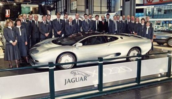 Jaguar XJ220 Concept on British International Motor Show 1988