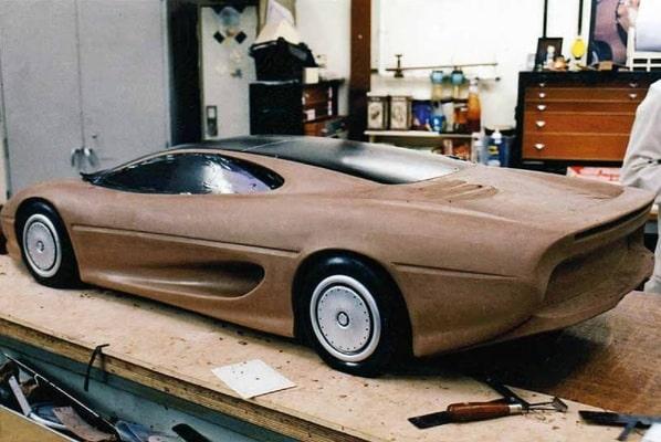 Jaguar XJ220 Concept scale model