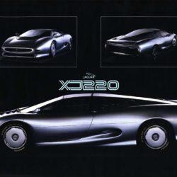 Jaguar XJ220 Concept small poster