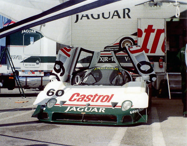 Jaguar XJR-10 on Miami GP 1990
