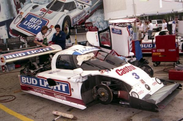 Jaguar XJR-10 TWR-589 Bud Light on Road Atlanta 1991