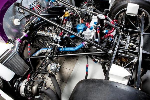 Jaguar XJR-11 engine