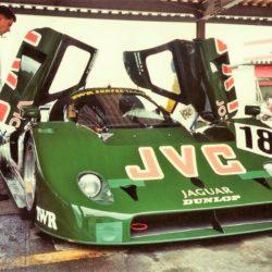 Jaguar XJR-11 in JVC colors