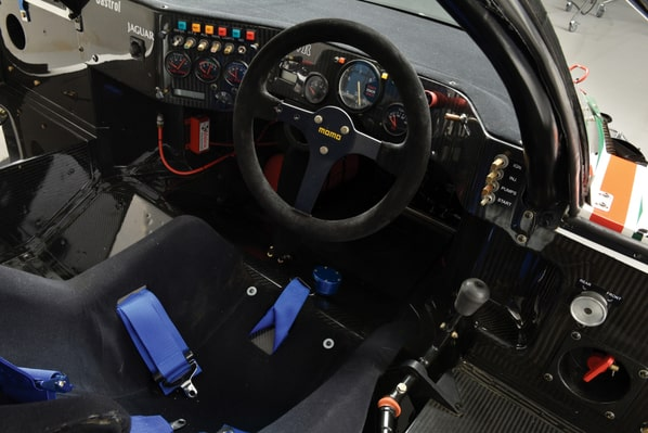 Jaguar XJR-9 interior